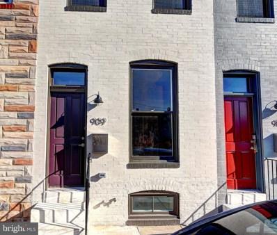 909 N Port Street, Baltimore, MD 21205 - #: MDBA304984