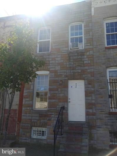 434 Payson Street, Baltimore, MD 21223 - #: MDBA305078