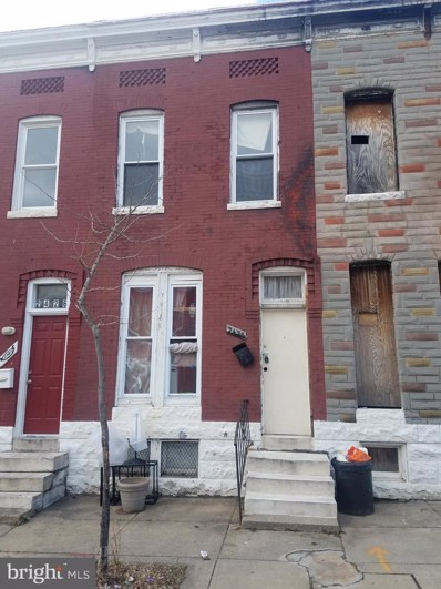 2428 Brentwood Avenue, Baltimore, MD 21218 - #: MDBA305634