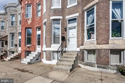 816 W 35TH Street W, Baltimore, MD 21211 - #: MDBA305684