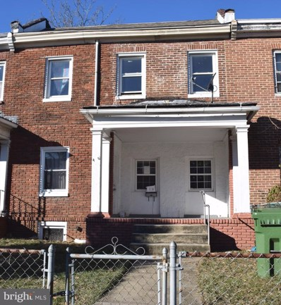 406 Rosecroft Terrace, Baltimore, MD 21229 - #: MDBA306038