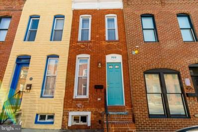 923 S Curley Street, Baltimore, MD 21224 - #: MDBA306052