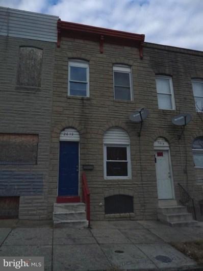 2612 Jefferson Street, Baltimore, MD 21205 - #: MDBA306796