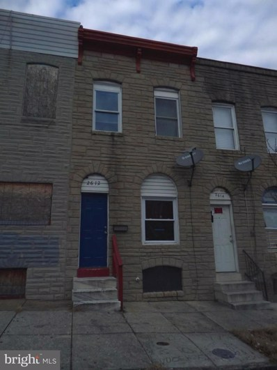 2612 Jefferson Street, Baltimore, MD 21205 - #: MDBA306796