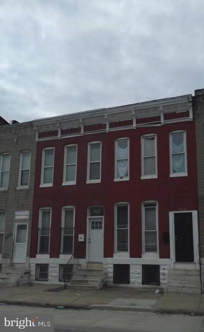 1406 Aisquith Street, Baltimore, MD 21202 - #: MDBA308480