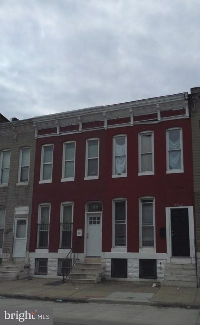 1406 Aisquith Street, Baltimore, MD 21202 - #: MDBA308480