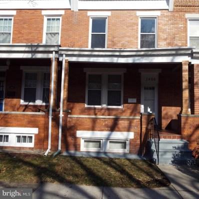3406 Dudley Avenue, Baltimore, MD 21213 - #: MDBA335522