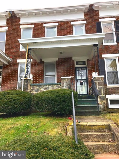 1637 Chilton Street, Baltimore, MD 21218 - #: MDBA351878