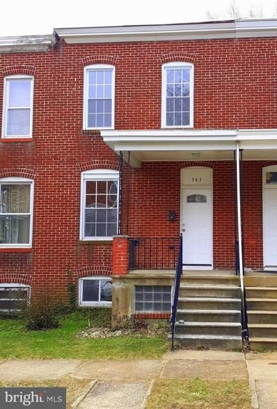 743 E 37TH Street, Baltimore, MD 21218 - #: MDBA356486