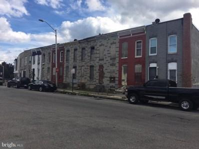1937 Ramsay Street, Baltimore, MD 21223 - #: MDBA357686