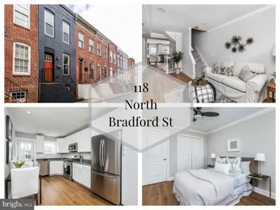 118 N Bradford Street, Baltimore, MD 21224 - #: MDBA360872
