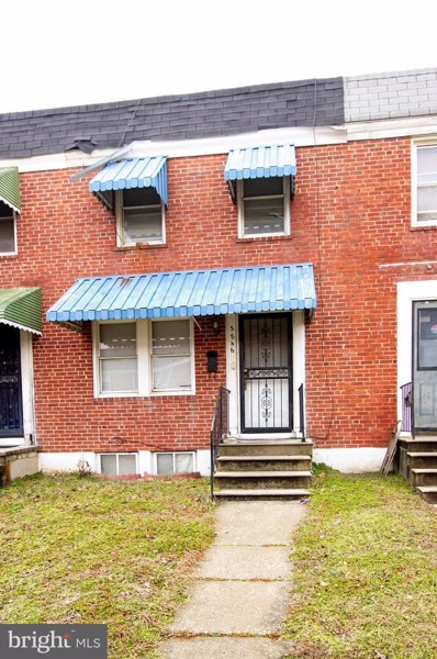 3846 Elmora Avenue, Baltimore, MD 21213 - #: MDBA382358