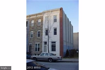 342 22ND Street, Baltimore, MD 21218 - #: MDBA382658