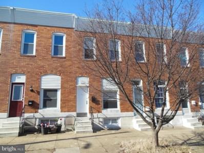 326 S Newkirk Street, Baltimore, MD 21224 - MLS#: MDBA383622