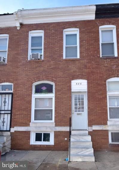 606 N Decker Avenue, Baltimore, MD 21205 - #: MDBA383904