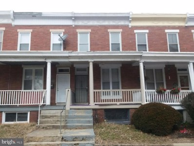 2220 Walbrook Avenue, Baltimore, MD 21216 - #: MDBA383938