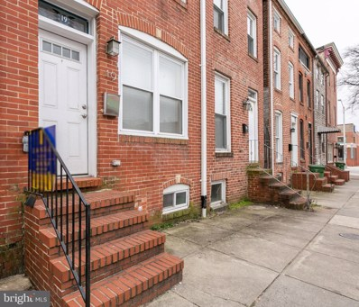 19 W West Street, Baltimore, MD 21230 - #: MDBA383954