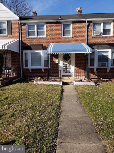 1242 Winston Avenue, Baltimore, MD 21239 - #: MDBA384062