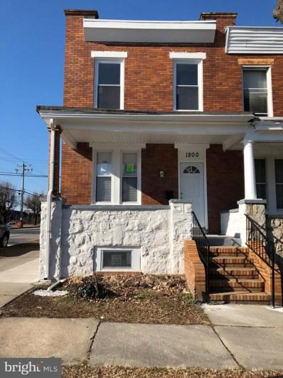 1200 N Ellwood Avenue, Baltimore, MD 21213 - #: MDBA384108