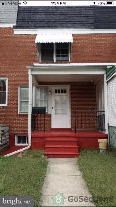 1016 N Iris Avenue, Baltimore, MD 21205 - #: MDBA384274