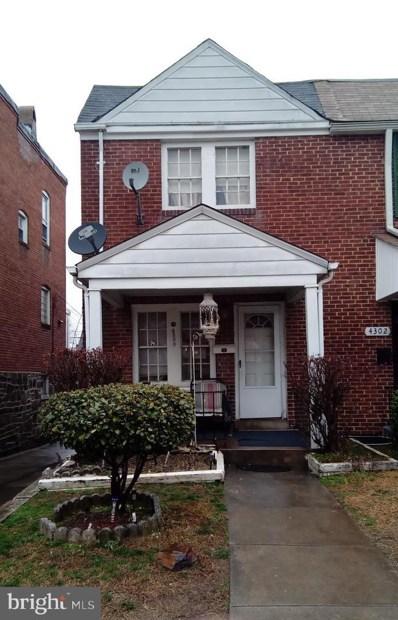4300 Berger Avenue, Baltimore, MD 21206 - #: MDBA384332