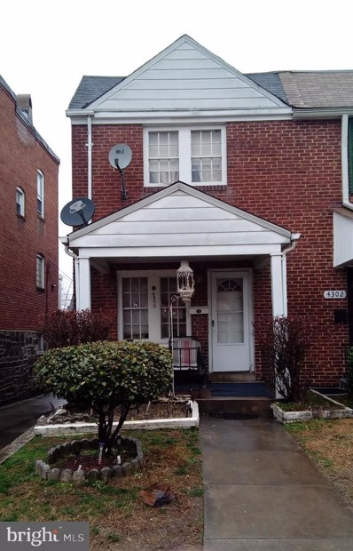 4300 Berger Avenue, Baltimore, MD 21206 - #: MDBA384332