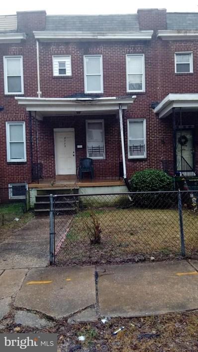4123 Norfolk Avenue, Baltimore, MD 21216 - #: MDBA384346