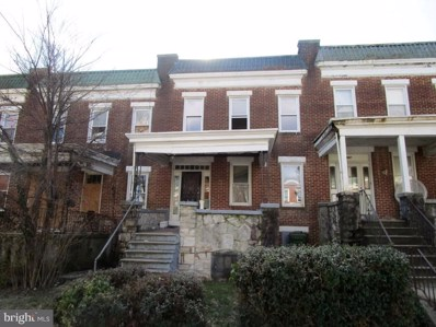 2805 Baker Street, Baltimore, MD 21216 - #: MDBA384374