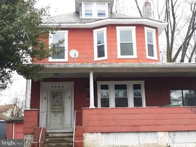 2806 Montebello Terrace, Baltimore, MD 21214 - #: MDBA399762