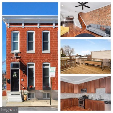 1318 Patapsco Street, Baltimore, MD 21230 - #: MDBA404268