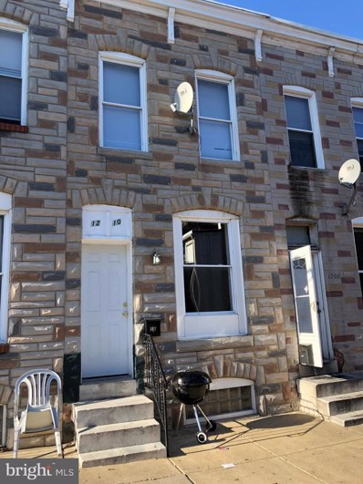 1210 Sargeant Street, Baltimore, MD 21223 - #: MDBA414380