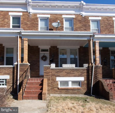 2714 Pelham Avenue, Baltimore, MD 21213 - #: MDBA415428