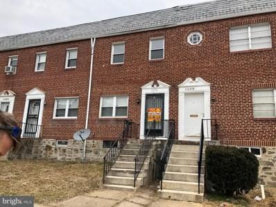 1558 Montpelier Street, Baltimore, MD 21218 - #: MDBA415508