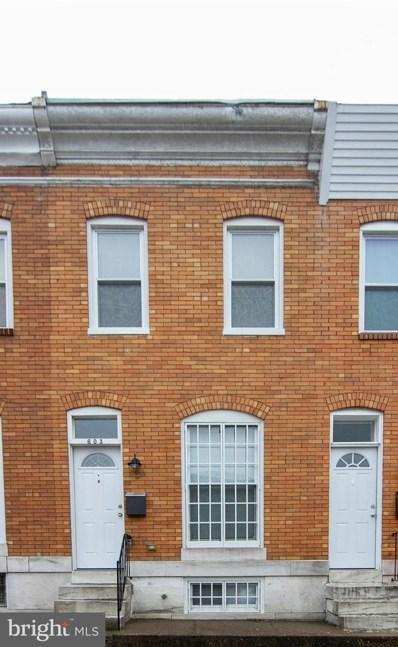 603 S Macon Street, Baltimore, MD 21224 - MLS#: MDBA423178
