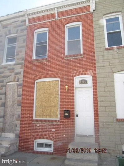 1205 James Street, Baltimore, MD 21223 - #: MDBA426910