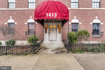 1413 Park Avenue UNIT 3F, Baltimore, MD 21217 - #: MDBA427004