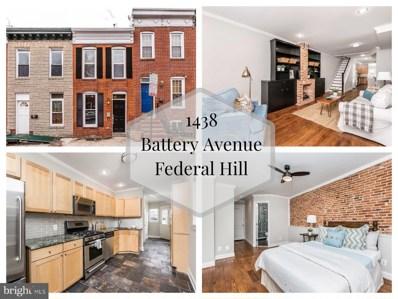 1438 Battery Avenue, Baltimore, MD 21230 - MLS#: MDBA435546