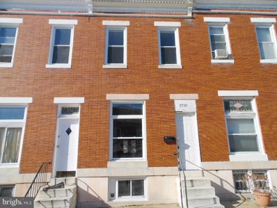1710 N Smallwood Street, Baltimore, MD 21216 - #: MDBA435664