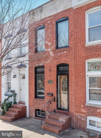 806 S Linwood Avenue, Baltimore, MD 21224 - #: MDBA435678