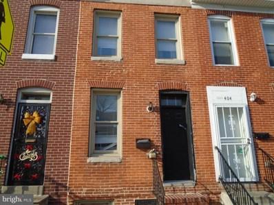 402 Chester Street N, Baltimore, MD 21231 - #: MDBA436130