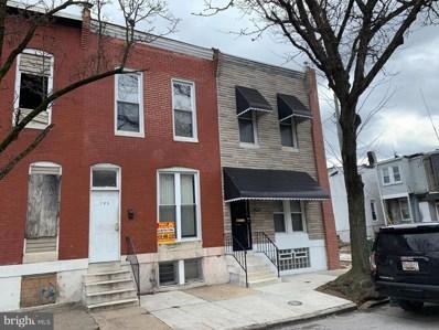 705 N Payson Street, Baltimore, MD 21217 - #: MDBA436188