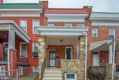 776 Linnard Street, Baltimore, MD 21229 - #: MDBA436242