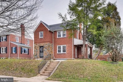 3703 Dennlyn Road, Baltimore, MD 21215 - #: MDBA436346