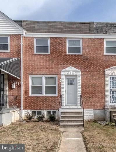 4329 Brehms Lane, Baltimore, MD 21206 - #: MDBA436386