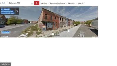 558 Baker Street, Baltimore, MD 21217 - #: MDBA436524