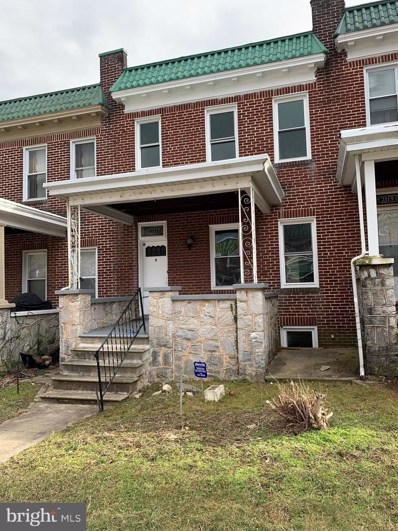 3117 Normount Avenue, Baltimore, MD 21216 - #: MDBA436614