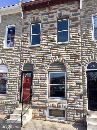 709 N Montford Avenue, Baltimore, MD 21205 - #: MDBA436694