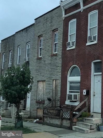 2613 E Fayette Street, Baltimore, MD 21224 - #: MDBA436718
