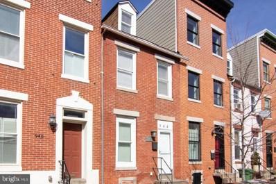 944 W Lombard Street, Baltimore, MD 21223 - #: MDBA436728