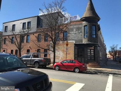 635 E Fort Avenue, Baltimore, MD 21230 - #: MDBA436910